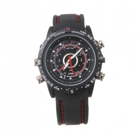 Wholesale HD Waterproof Watch Camera 1280*960@30FPS Under Water 30M 8G