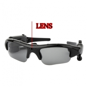 Wholesale Spy Sunglasses Camera With MP3 8GB Memory/Hidden Camera