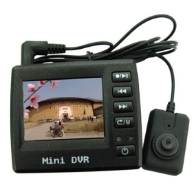 Wholesale 2 Inch LCD Spy Button Color Pinhole Camera with DVR