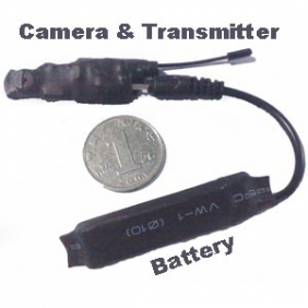 Wholesale 2.4ghz Wireless Camera Transmitter The Samllest Camera in Size
