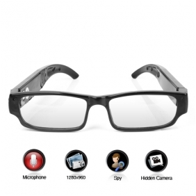 Wholesale OL Fashion Looking Sexy Glasses Spy Digital Video Recorder, Hidden Camera