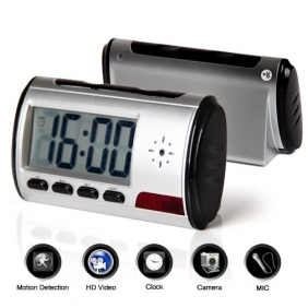 Wholesale Digital Talking Clock with Hidden Security Camera + Motion Sensor