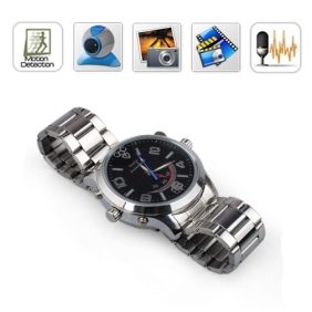 Wholesale HD 4GB Spy Watch Cameras with Motion Detection Voice Recording Function /Hidden Camera