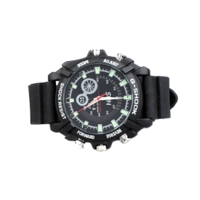 Wholesale IR Night Vision Wristwatch Camera With 16GB Memory+HD Camera, DVR Video