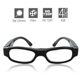 Wholesale 720P HD Spy Glasses with 4G Memory Built-in