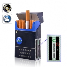Wholesale Mini Voice Activated SPY DVR Cigarette Case (4GB)