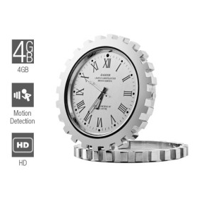 Wholesale 4GB HD Spy Camera Clock with Motion Detector