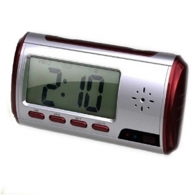 Wholesale New Red Clock Camera 1280*960 with Video Photo Motion Detection and Remote Control Function