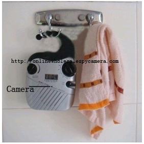 Wholesale Bathroom Spy Radio  Hidden HD 720P Spy Camera DVR 8GB (Motion Activated And Remote Control )