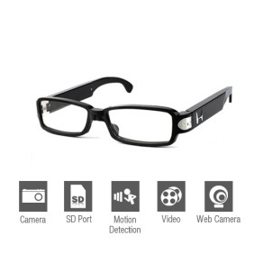 Wholesale HD Spy Sunglasses Camera with Web Camera