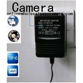 Wholesale Spy Charger Hidden Remote Control HD Pinhole Spy Camera DVR 16GB 1280X720 (Motion Activated )