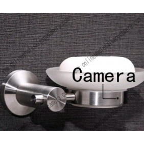 Wholesale Stainless steel Soap Box HD Bathroom Spy Camera DVR 16GB 1280x720P 5.0 Mega Pixel