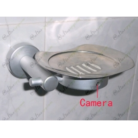 Wholesale HD Bathroom Spy Camera Stainless steel Soap Box Camera DVR 16GB 1280x720 5.0 Mega Pixel