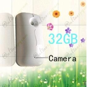 Wholesale Spy Hydronium Air Purifier Hidden Bathroom Spy Camera 32GB (Motion detection)
