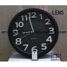 Wholesale Wall Clock Hidden Spy Camera DVR with Internal Momory 16GB Motion Activated