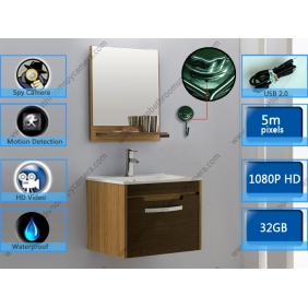 Wholesale Stainless Steel Bathroom Hook Hidden HD Spy Camera DVR 32GB 1920X1080 Motion detection