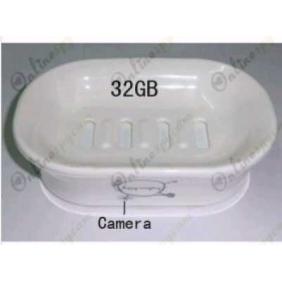 Wholesale Spy Soap Box Hidden 720P HD waterproof Remote Control Bathroom Spy Camera DVR 32GB (Motion Activated)