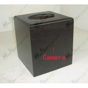 Wholesale Tissue Box Spy Hidden Hotel Room Camera 64GB HD 720P DVR 12-13 hours recording time