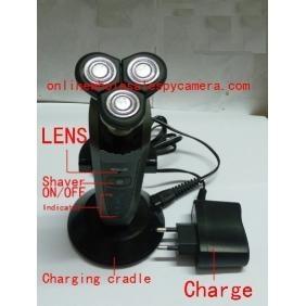 Wholesale HD Bathroom Spy Camera Waterproof Spy Shaver Camera DVR 32GB 1280x720