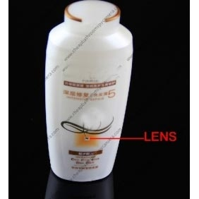 Wholesale New 720P Ture HD Shampoo Hidden Spy Camera With Perfect Low Luminous Camera Lens and Motion Detection
