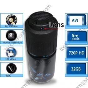 Wholesale 1280X720 Men\'s Fragrance Hidden HD Bathroom Spy Camera DVR 16GB