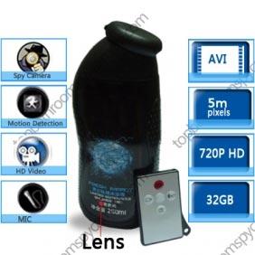 Wholesale Men\'s Shower Gel Bathroom Spy Camera Motion Detection 720P DVR 32GB with Remote Control