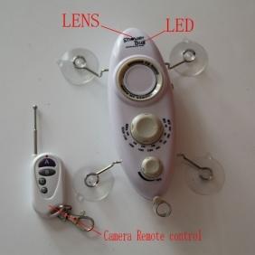Wholesale Bathroom Camera Shower Bug Radio Camera,Bathroom Spy Camera with Remote Control 32GB