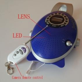 Wholesale Bathroom Spy Remote Control Shower Hidden Radio Camera 720P HD Pinhole Bathroom Spy Camera