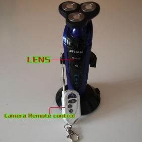Wholesale Remote Control Bathroom Spy Camera Waterproof Spy Shaver Camera DVR 32GB 1920x1080(DHL Free-Shipping)