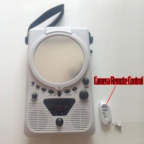 Wholesale Remote Control Bathroom Spy CD Radio Camera-HD Bathroom Spy Camera-Motion Detection Spy Camera 720P&1080P