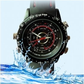 Wholesale 8GB High Definition 1280x960 Waterproof Fashion Spy Watch Digital Video Recorder with Hidden Camera