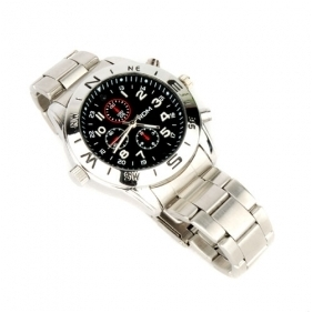 Wholesale 640*480@30fps Spy DVR camera Watch with 4GB built-in Memory Hidden Camera