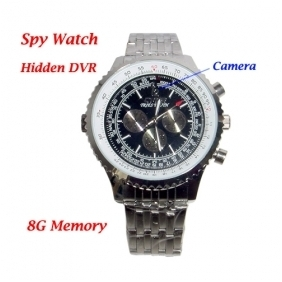 Wholesale High Resolution 1280x960 Fashion Design Watch DVR with 8G Memory Hidden Camera