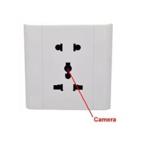 Wholesale 4GB Security socket with hidden spy camera/Voice Activated Security Spy Socket Camera Record DVR