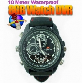 Wholesale Waterproof Sport Camera Watch DVR with Motion Detector Function Spy watch camera