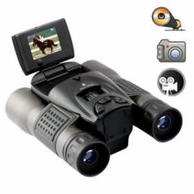"Wholesale Long Range DVR Camera Binoculars w/ 1.5"" Flip Screen"