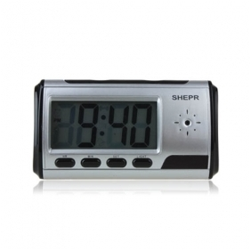 Wholesale New Black Clock Camera 1280*960 with Video Photo Motion Detection and Remote Control Function