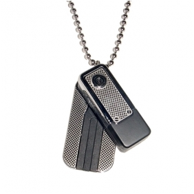 Wholesale Motion-Activated Necklace Style Mini Digital Video Recorder 2GB Memory included Hidden Camera