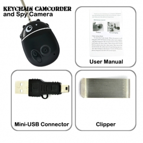 Wholesale Keychain Camcorder with Spy Camera