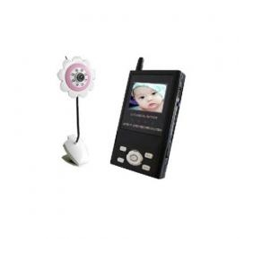 Wholesale Baby Monitor 2.4G 4CH Compact Wireless Portable AV Receiver Baby Monitor