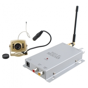 Wholesale 2.4G Wireless Night Vision Camera and Receiver Set