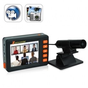 Wholesale Spy 2.5 Inch Motion Activated Mini DVR Video Audio Recording System  Camcorder with Separate Camera Kit