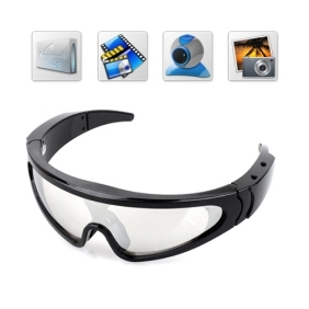 Wholesale 5MP HD Spy Eyewear Sunglasses Camera with Build in 8GB Memory/Hidden Camera