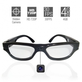 Wholesale 720P Spy Glasses With Hidden Spy Camera,HD Sunglasses Camera
