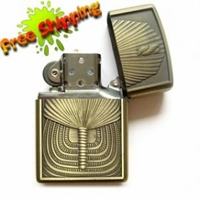 Wholesale 4GB Bronze Egyptian Pharoah Lighter Spy Camera