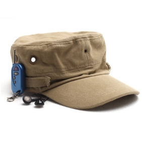 Wholesale Spy Camera In Hat Style With Bluetooth and MP3 Functions
