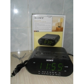 Wholesale Sony Alarm Clock And Radio Hidden HD Spy Camera 16GB 1280x720