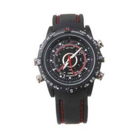 Wholesale HD Waterproof Sports Spy Watch (8GB)