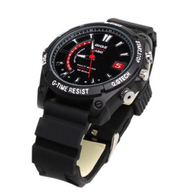 Wholesale Full HD IR Night Vision Waterproof Sports Watch with Digital Video Recorder (4GB)