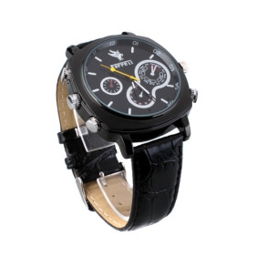 Wholesale 1080P HD Waterproof Spy Watch (16GB)